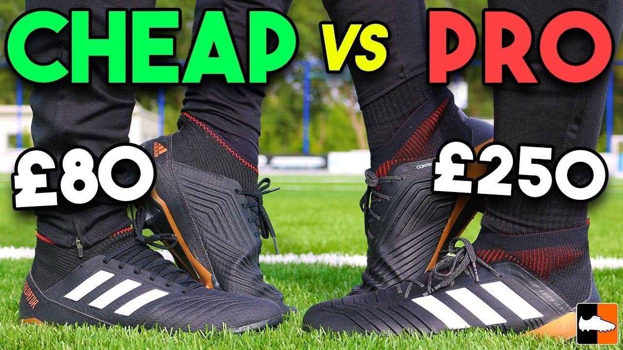 e54e21c79ab adidas Predator Battle! Can You Tell The Expensive Boot?