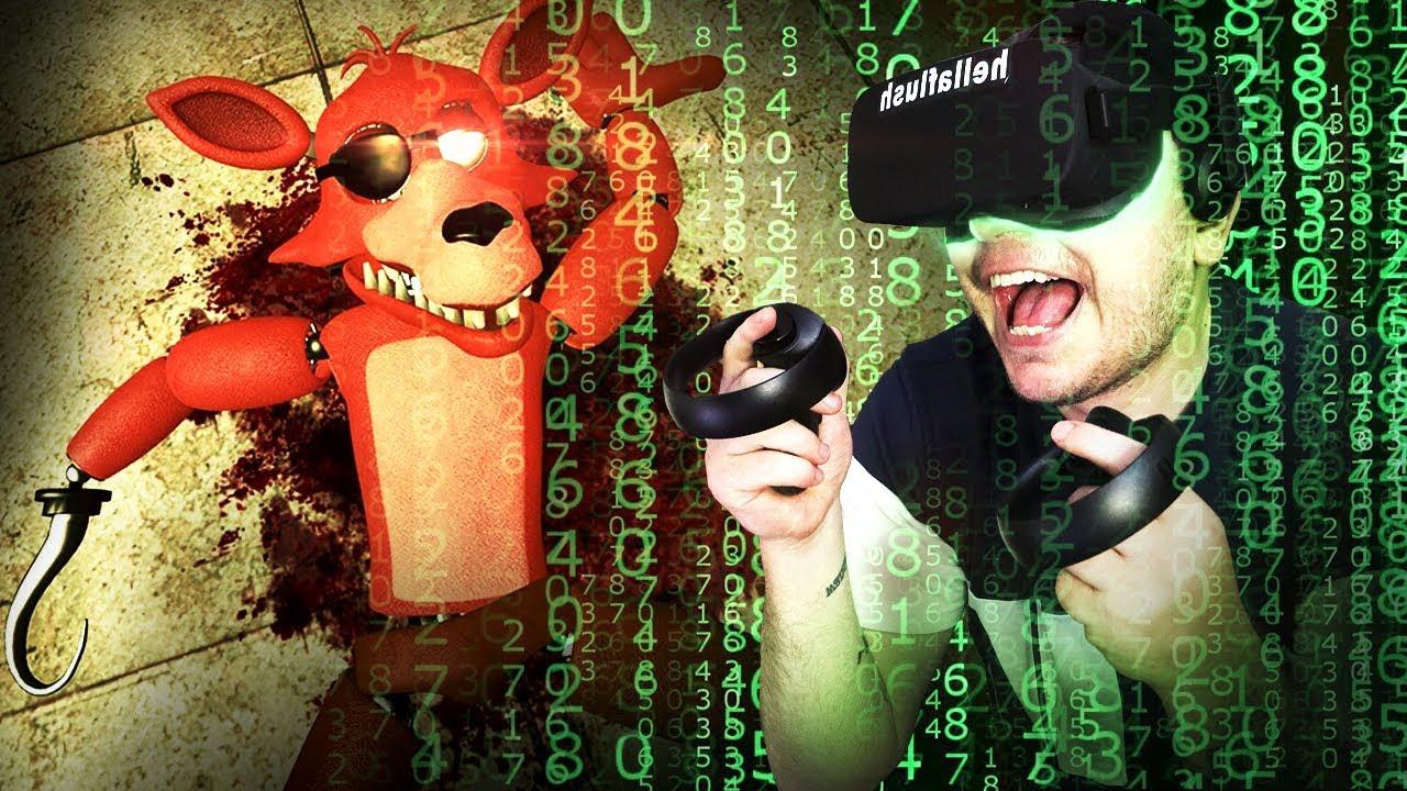 I KILLED FOXY in VR (Gmod VR
