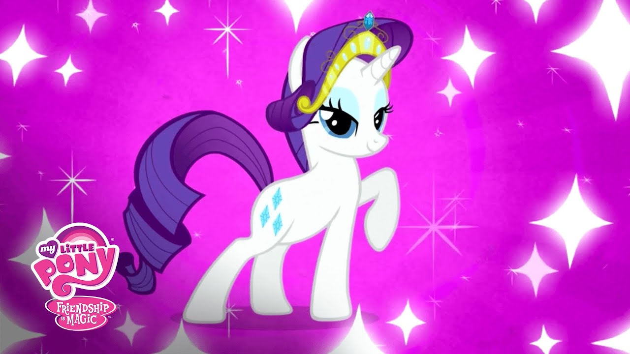 Mlp Friendship Is Magic Meet Rarity Behind The Pony