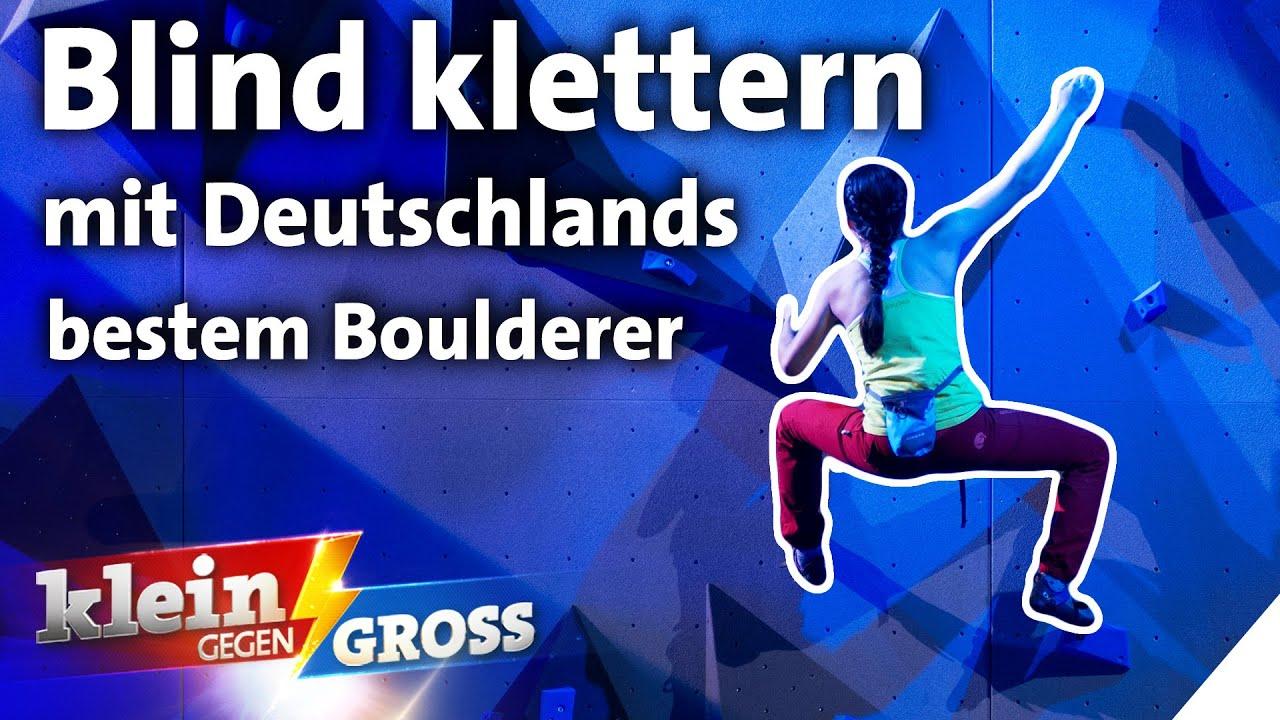 Ist Aurelia schneller als der deutsche Boulder-Meister David Firnenburg? | Klein gegen Groß
