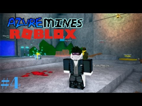 Azure Mines #4 - TRADING! (Roblox Azure Mines)