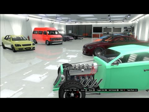 Gta 5 Online My Friends Garages, JDM, hellaflush, Rare Cars