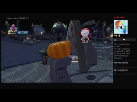 papyrus plays Disney infinity 3.0 vision's the nightmare before Christmas