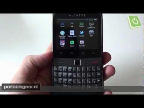 Alcatel OT-916D hands-on