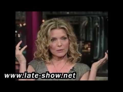 Michelle Pfeiffer on David Letterman { 6/16/2009 }...