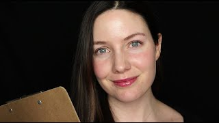 [ASMR] Simple Cranial Nerve Exam For Relaxation {Roleplay} {Whispered}