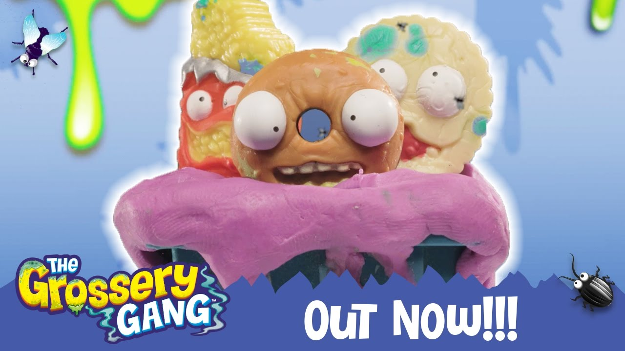 Grossery Gang Cartoon 🔥 BINS MASTER 🔥 | Videos For Kids