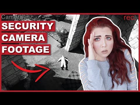 There Is A Haunted Doll Sitting On My Porch (Security Footage)