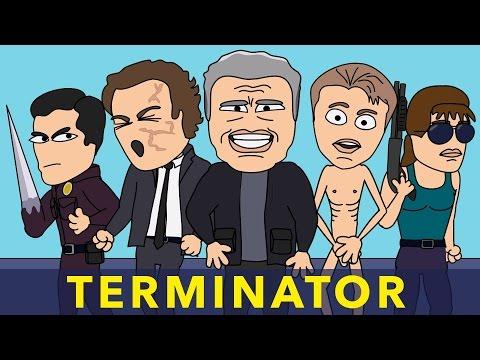 Terminator Genisys: classic characters vs newbies - Musical Animated Parody