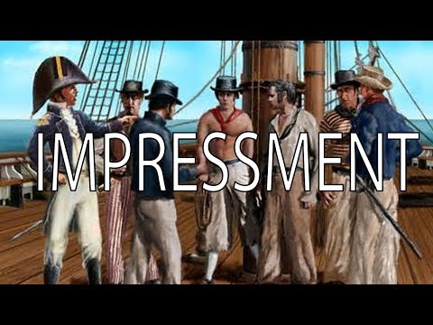 Impressment | Stuff That I Find Interesting