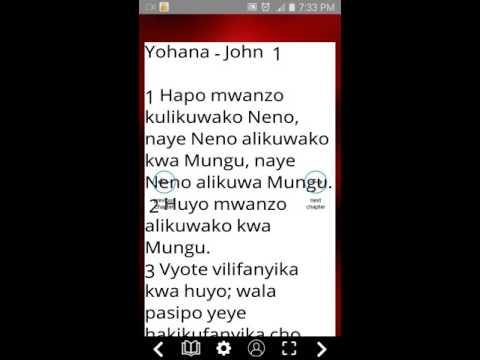 Swahili Bible Apps On Google Play