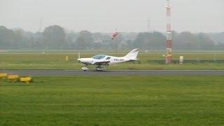 CZAW SportCruiser ► Landing, backtrack & takeoff ✈ Groningen Airport Eelde