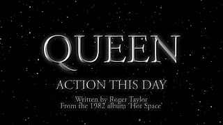 Queen - Action This Day (Official Lyric Video)