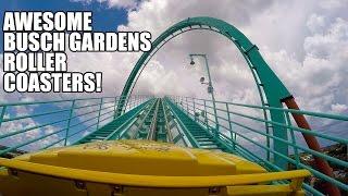 5 Awesome Roller Coasters! Kumba! Montu! SheiKra! Cheetah Hunt! Cobra's Curse! Busch Gardens Tampa