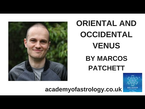 Oriental and Occidental Venus By Marcos Patchett