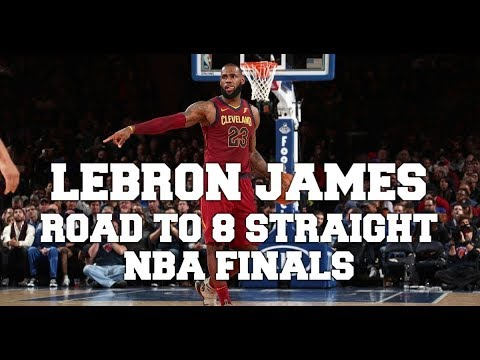acb7d65ce930 Lebron James - Road to 8th Straight 2018 NBA Finals Mix - YouTube