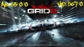 Grid 2 (PC) Gameplay || A8-5500 / HD-5670