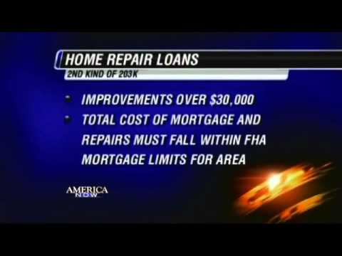 BEWARE - HOME BUYERS with 203K LOANS