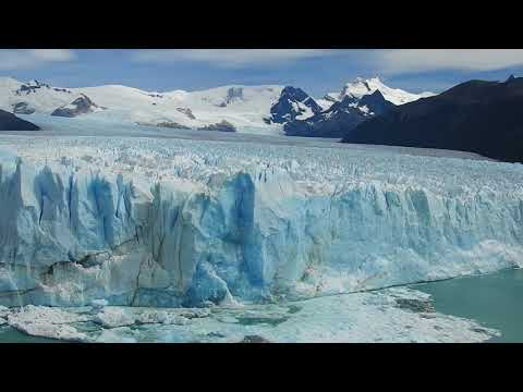 Giant Glacier Calving on Perito Moreno Glacier - Feb 2018
