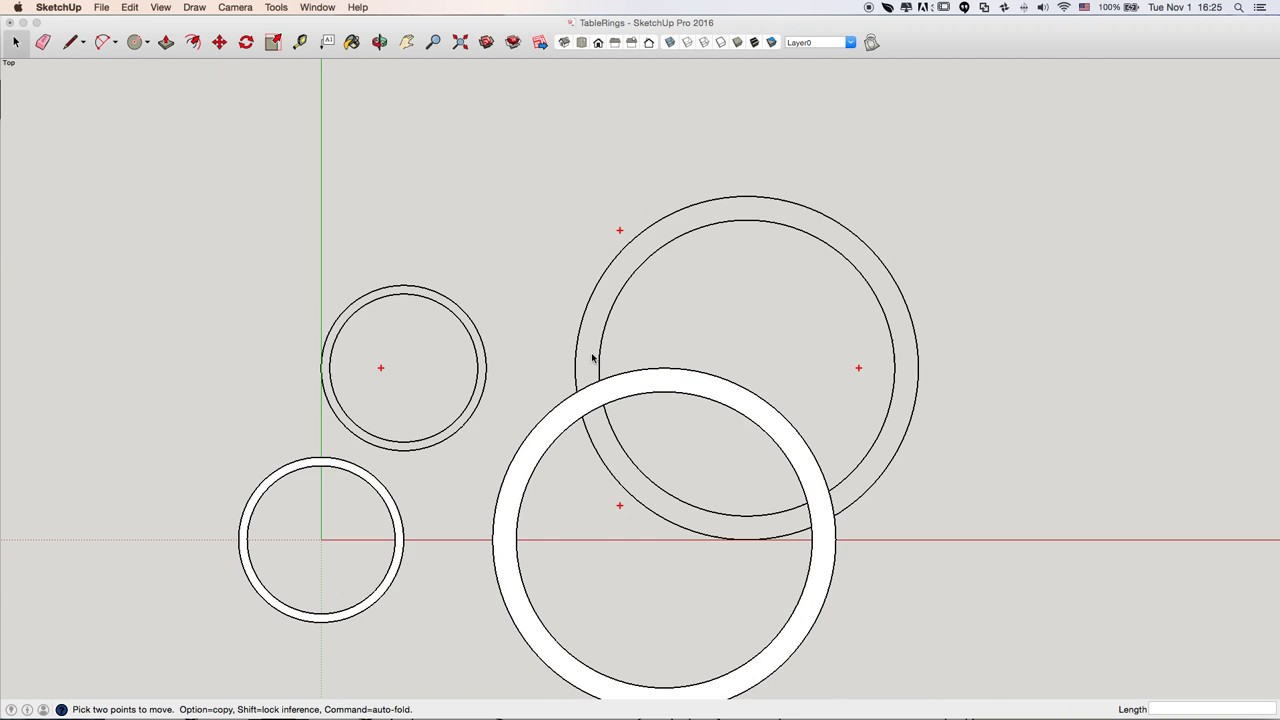 SketchUp DXF Export