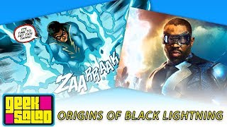 Origins of Black Lightning