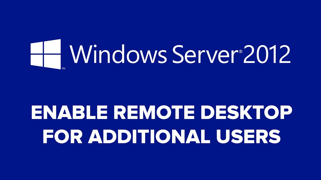 How to Grant Local User Remote Desktop Access on Windows Server