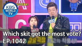 Which skit got the most vote? [Gag Concert / 2020.04.18]