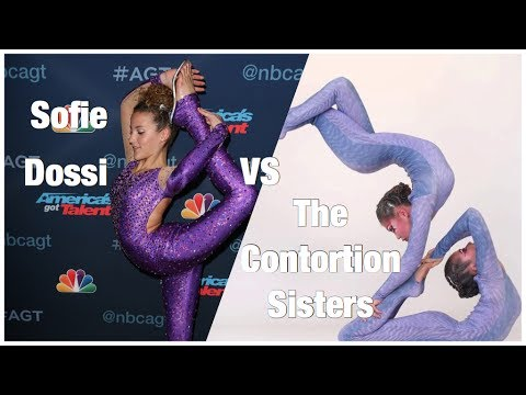 Sofie Dossi VS The Contortion Sisters