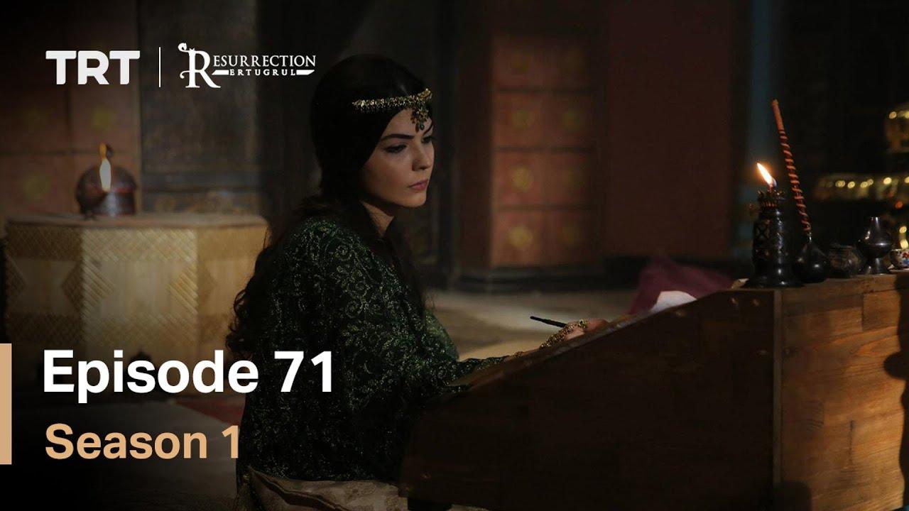 Resurrection Ertugrul Season 1 Episode 71 with English subtitles