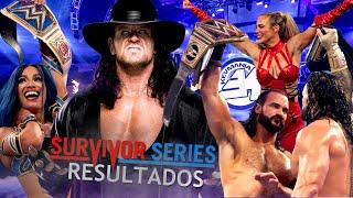 RESULTADOS DE SURVIVOR SERIES 2020 - La despedida de The Undertaker
