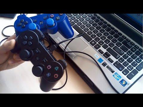 Как подключить Китайский Джойстик Dualshock 3 к Компьютеру