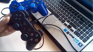 как подключить Китайский Джойстик Dualshock 3 к Компьютеру НОВЫЙ СПОСОБ
