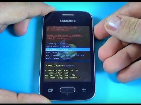 Como resetear Samsung Galaxy Pocket 2 G110H