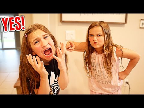 Saying YES to My Little Sister For 24 HOURS! | JKrew