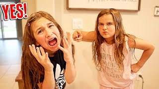 Saying YES to My Little Sister For 24 HOURS!   JKrew