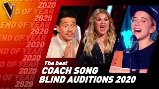 The Best Coach Songs in the Blind Auditions of The Voice 2020 | Top 10
