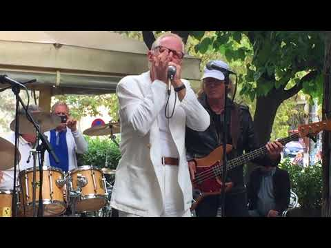 Mr. Sixty en directe al Festival de Blues de Cerdanyola del Vallès (2017)