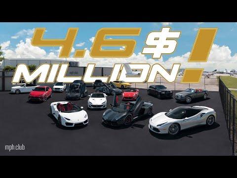 $4.6 MILLION DOLLAR CAR COLLECTION