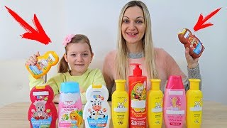NU Alege SAMPON Slime Challenge Don't Choose Shampoo in Slime Challenge | Will it Slime?