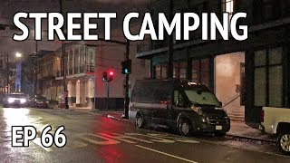 Street Camping in New Orleans | Camper Van Life S1:E66
