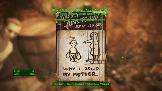 Fallout 4 Walden Pond Magazines Tales of a Junktown Jerky Vendor