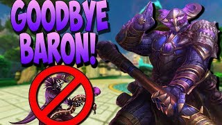 WUKONG COUNTERS BARON SURPRISINGLY HARD! EZ ESCAPES! - Masters Ranked Duel - SMITE