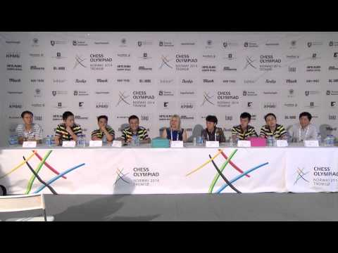 Official Press conference after round 11 WINNERS (open section)