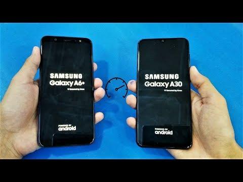 Samsung Galaxy A30 Vs Samsung Galaxy A6 Plus - Speed Test!