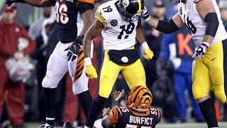 NFL Pittsburgh Steelers Dirty Hits/Plays