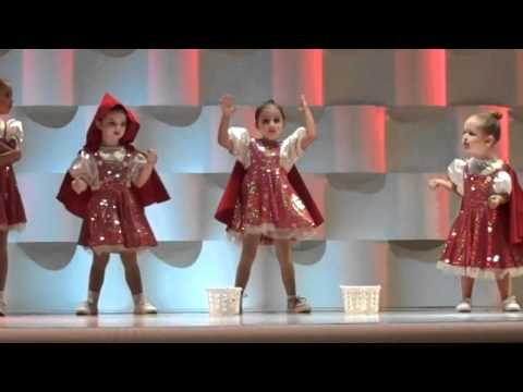 CUTEST Hip Hop dance routine Who's Afraid of the Big Bad Wolf - B5
