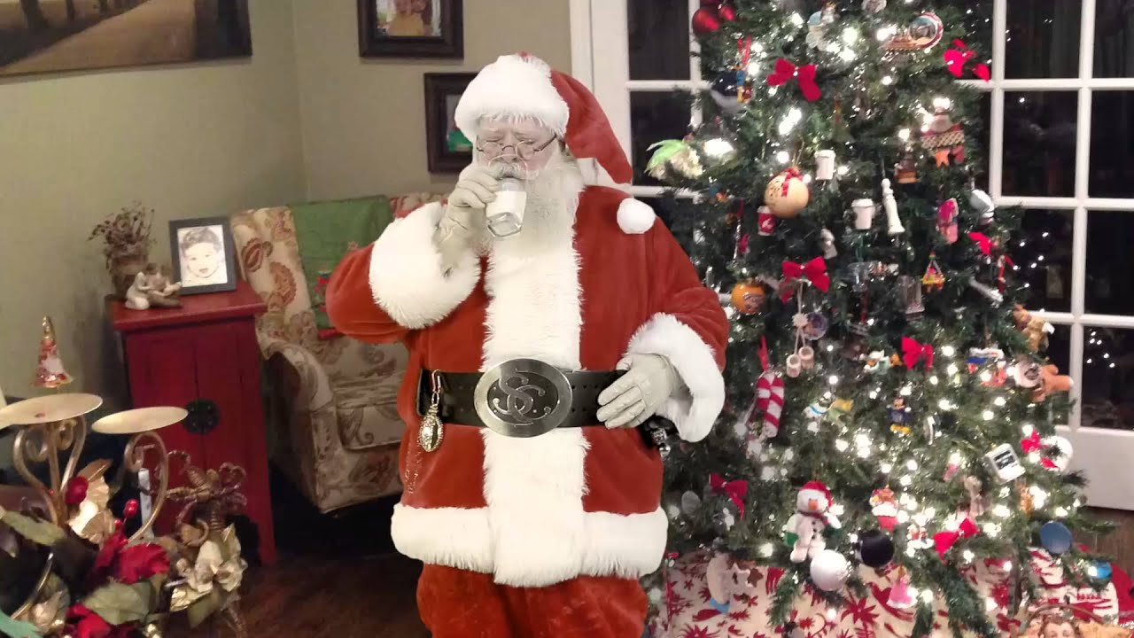 Santa Caught On Tape (Video Of Santa In Your House)   YouTube