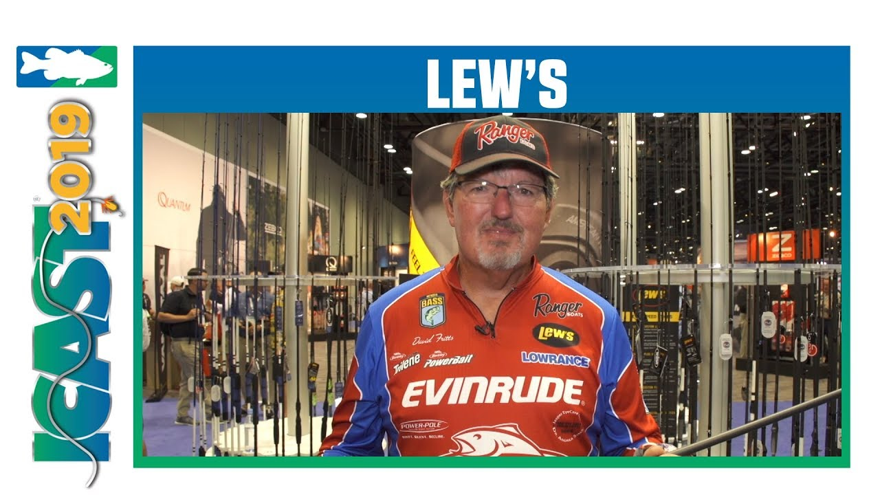 ICAST 2019 Videos - Lew's Speed Stick Rods with David Fritts