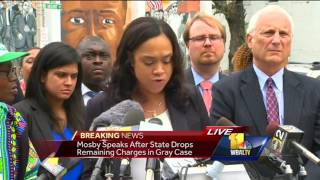 Marilyn Mosby speaks after gag order lifted