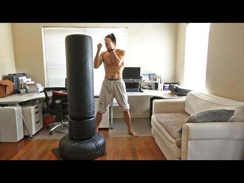 10,000 rep Punches, 300reps free standing punching bag